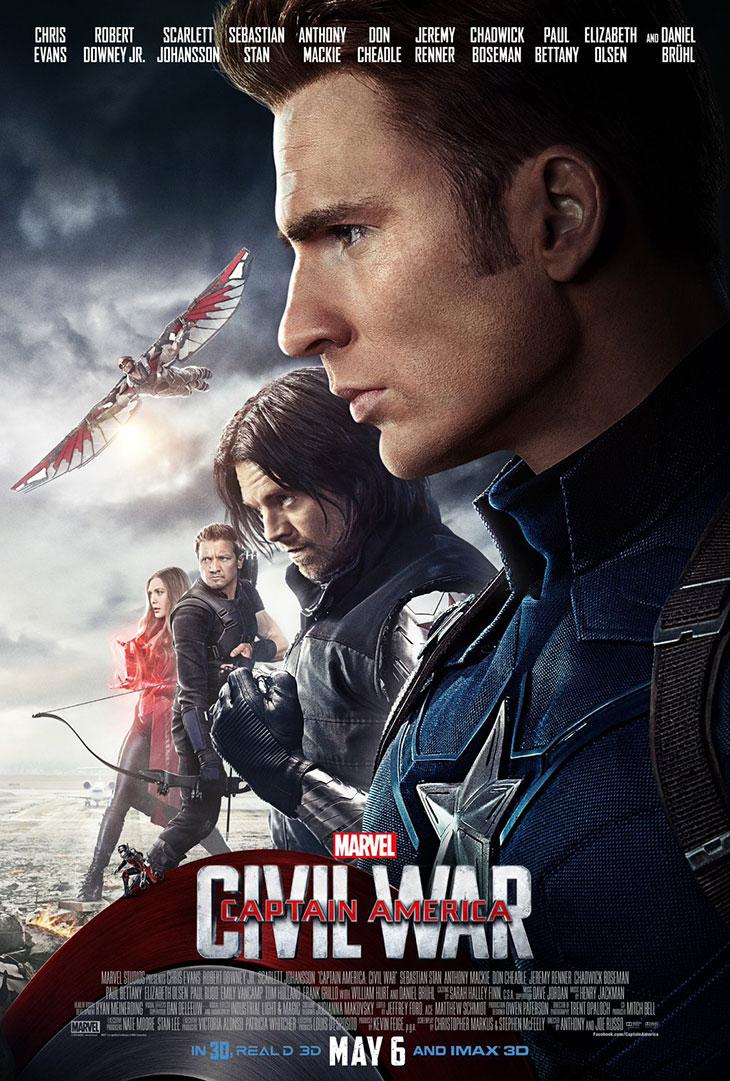 El Team Cap en el nuevo póster de Capitán América: Civil War