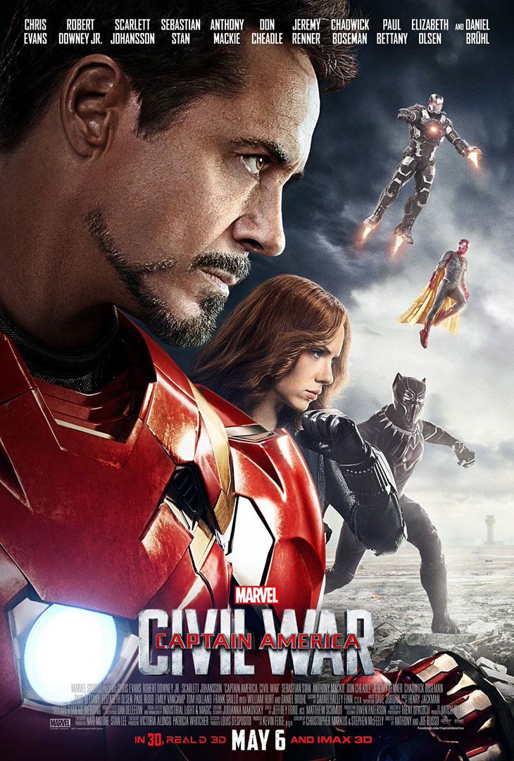 El Team Iron Man en el nuevo póster de Capitán América: Civil War