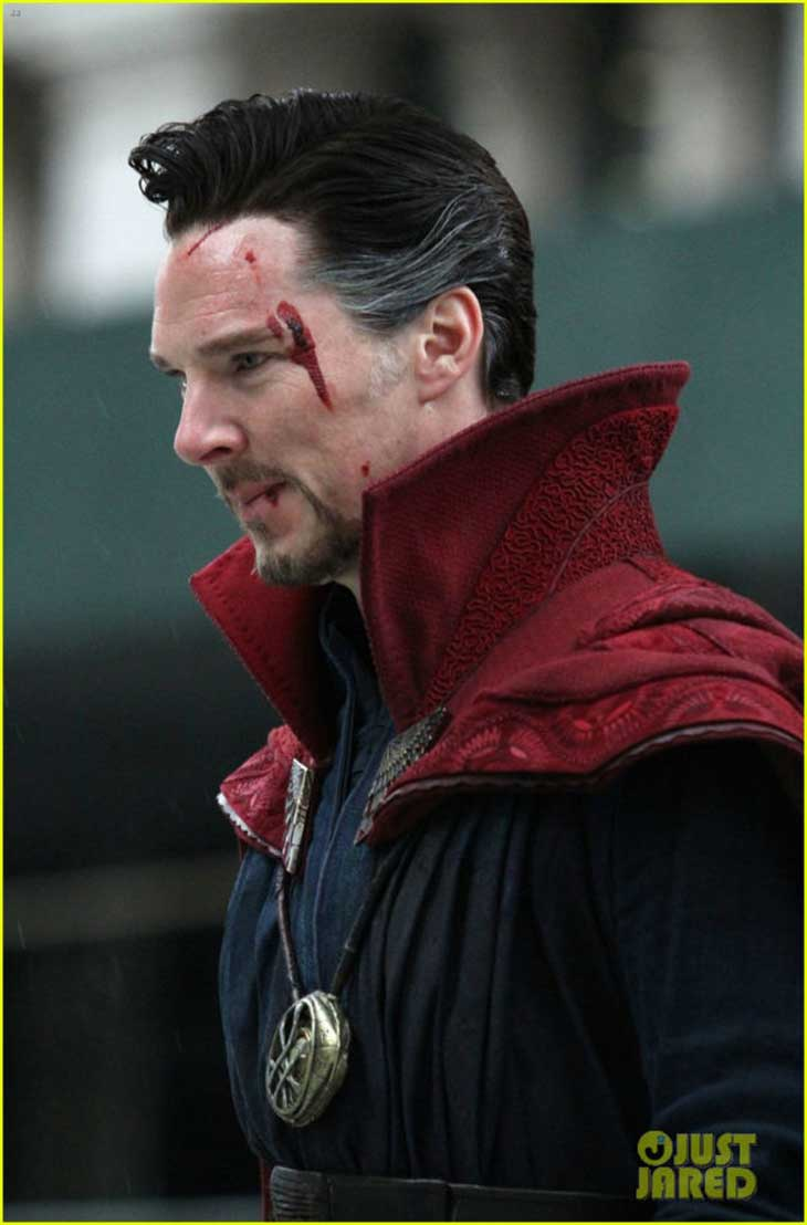 Benedict Cumberbatch es Stephen Extraño