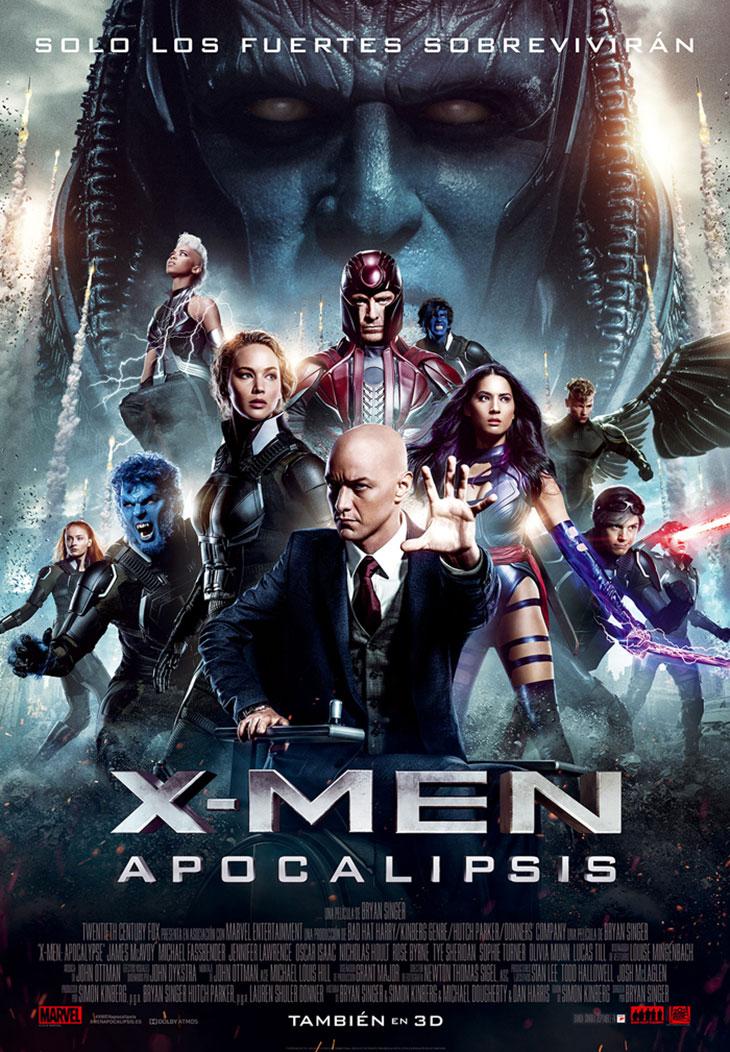 Póster en español de X-Men: Apocalipsis