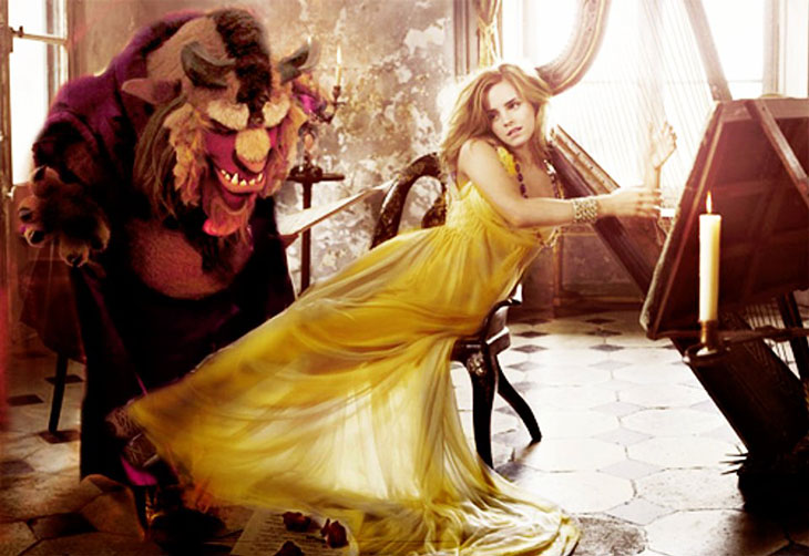 Emma Watson la Bella y la Bestia