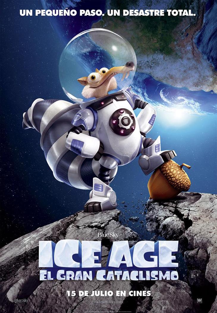Os presentamos el tráiler final de 'Ice age: el gran cataclismo'
