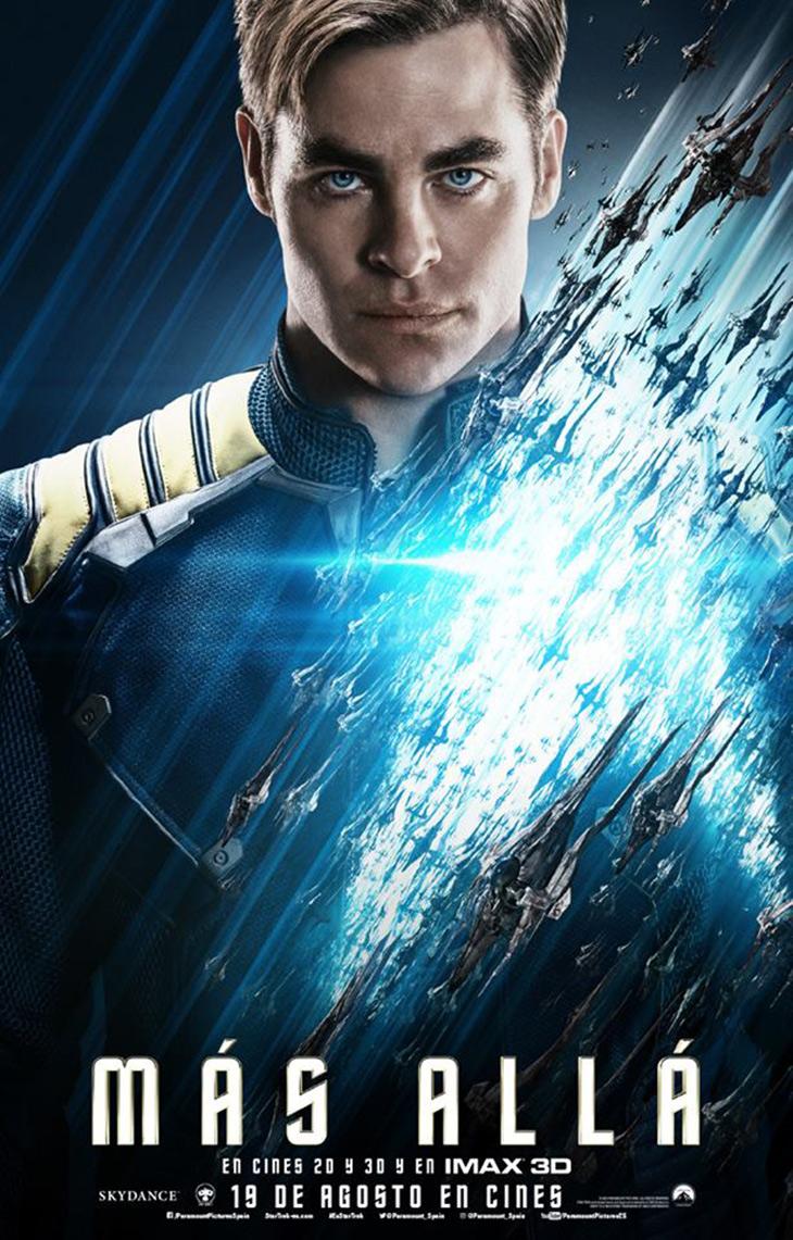 Star Trek Mäs Allá Kirk español