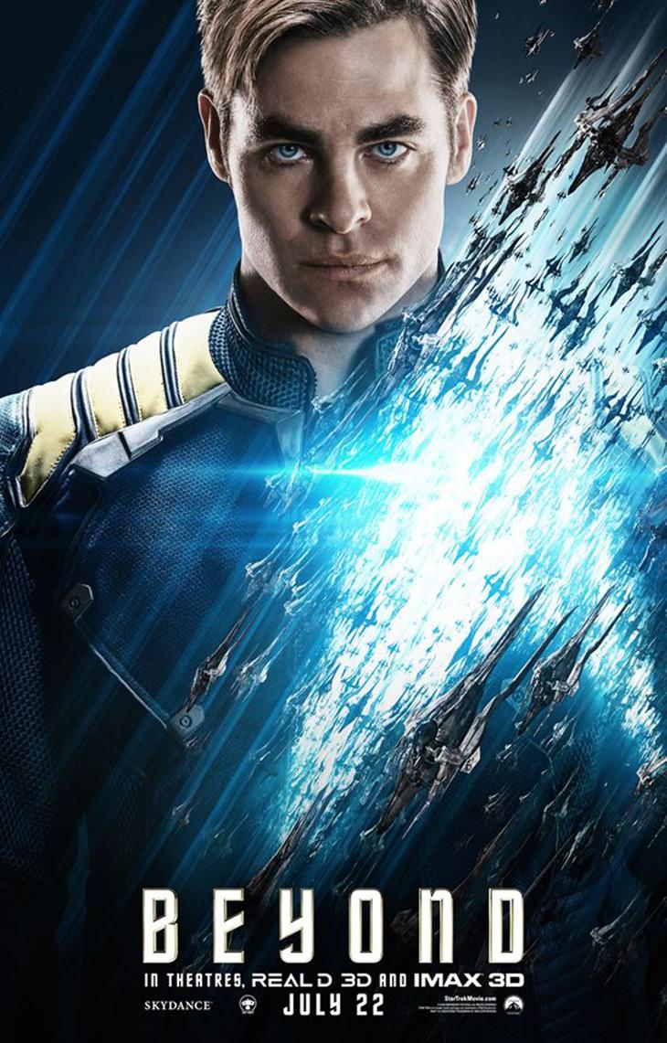 Star Trek Más allá Kirk