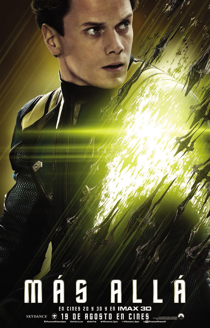 Cartel Chekov en Star Trek: más allá