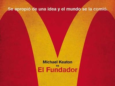 Póster en español de El Fundador destacada