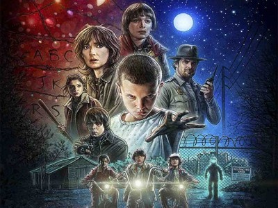 Nuevo póster de Stranger Things destacada