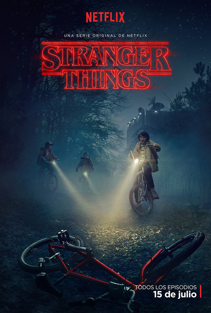 Póster de Stranger Things, de Netflix