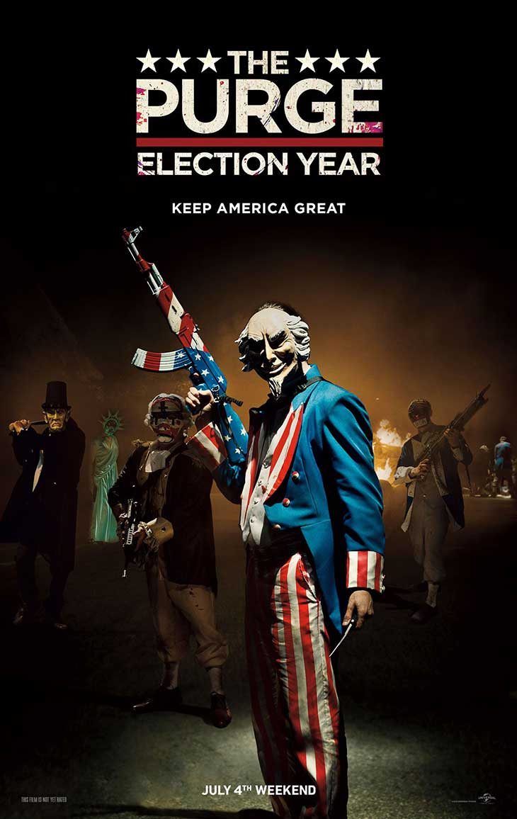 Póster de The Purge election Year