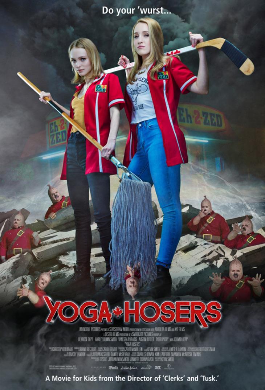 Póster de Yoga Hosers
