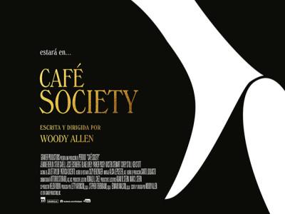 cartel en español de Café Society destacada