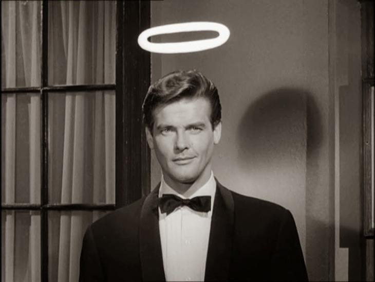 Roger Moore en la mítica serie El Santo