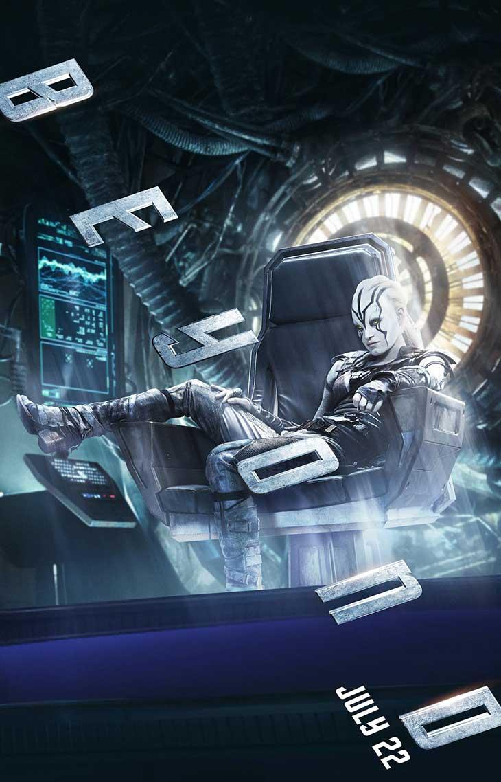 Nuevo póster de Jayla en Star Trek: Más allá