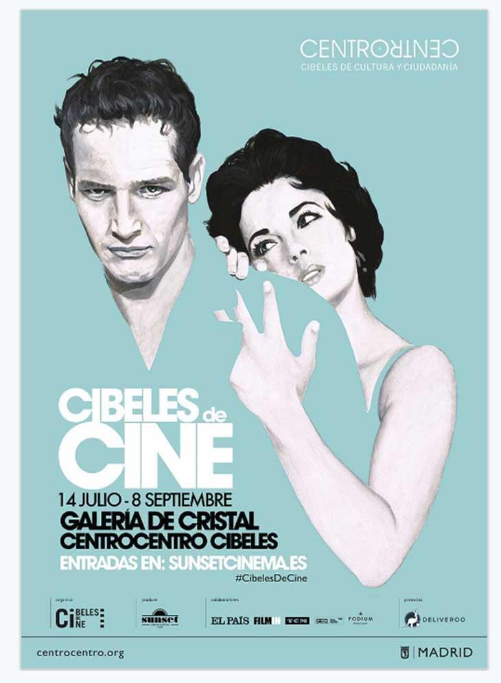 Cartel de Cibeles de Cine 2016