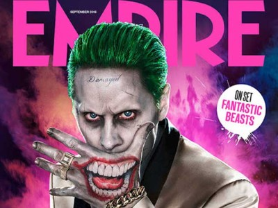 Portada de Empire para el Joker de Escuadrón Suicida destacada