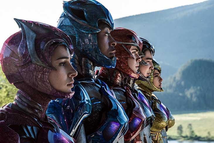 Los Power Rangers, al descubierto
