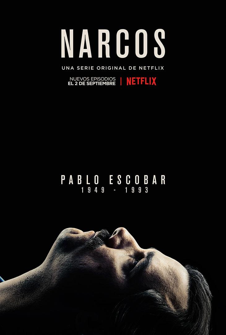 Póster de la segunda temporada de 'Narcos'