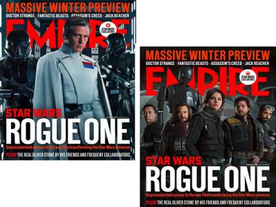 Portadas de Empire de 'Rogue One: una historia de Star Wars' destacada