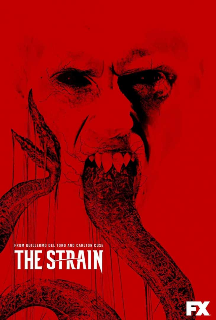 pósteres de la tercera temporada de 'The Strain'