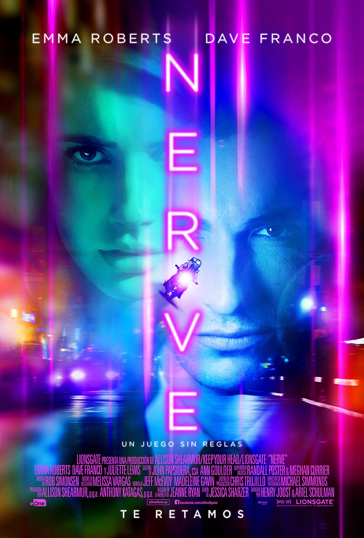 Cartel final de Nerve
