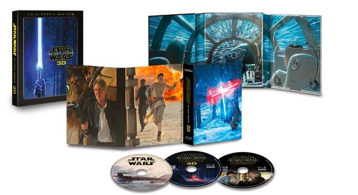 Consigue este otoño la edición coleccionista en 3D de 'Star Wars: el despertar de la fuerza'