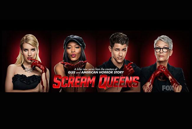Los protagonistas de Scream Queens destacada