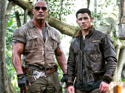 Nick Jonas y Dwayne Johnson destacada