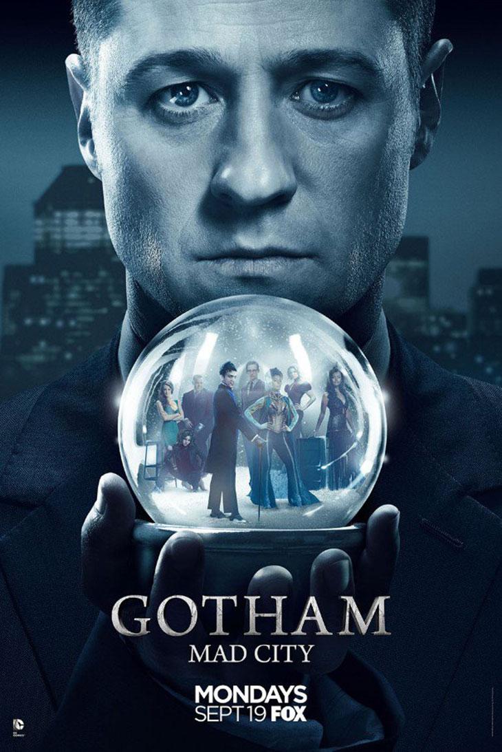 Nuevo póster de 'Gotham'