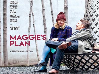 Póster de 'Maggie`s plan' destacada