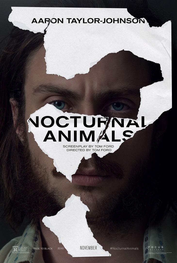 Póster de 'Nocturnal Animals' para Aaron Taylor-Johnson