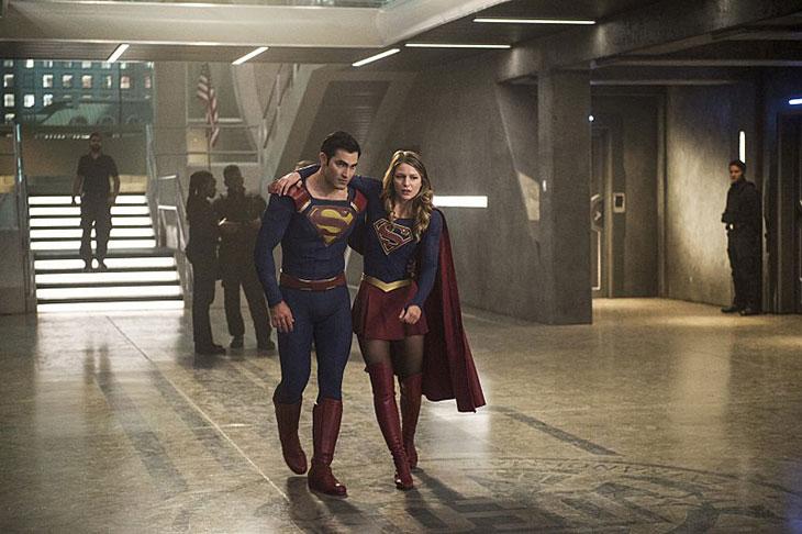 Una imagen de Supergirl