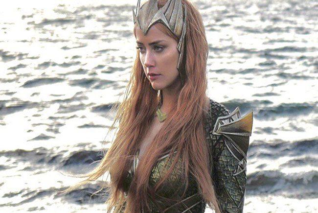 Amber Heard, Mera en Justice League destacada