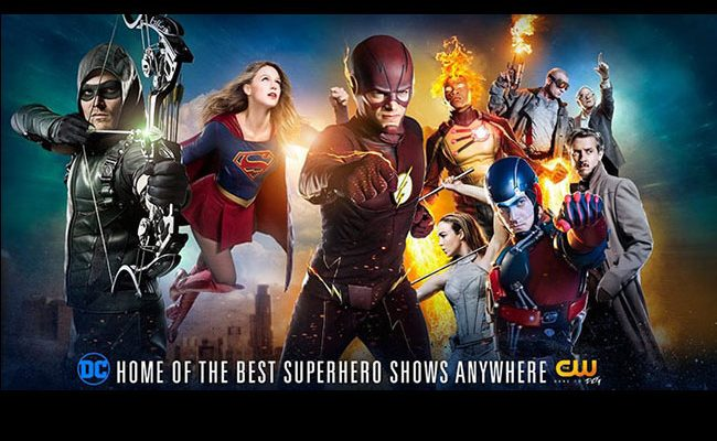 'The Flash', 'Arrow', 'Legends of tomorrow' y 'Supergirl' destacada