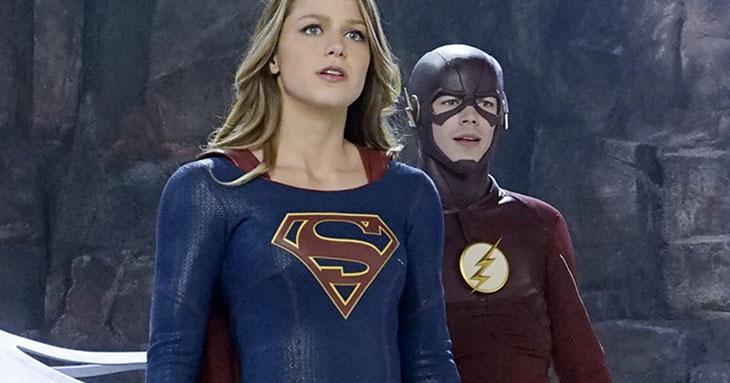 Supergirl y The Flash en Invasion