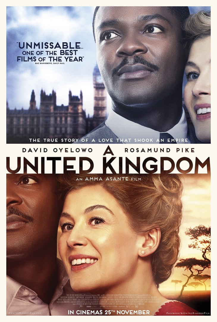 Póster de 'A United Kingdom'