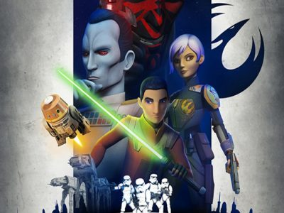 Póster de Star Wars Rebels destacada