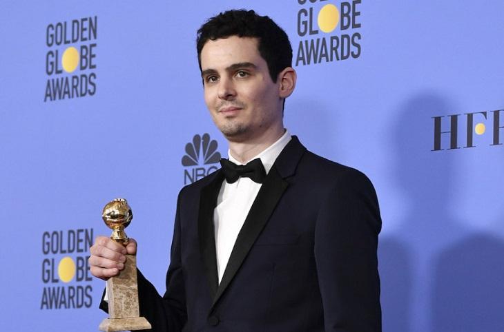 Damien Chazelle, mejor director por 'La ciudad de las estrellas'