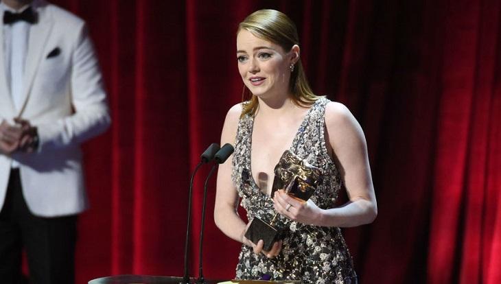 Emma Stone, mejor actriz por 'La ciudad de las estrellas'
