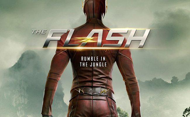 Póster de The Flash Attack on Gorilla City destacada