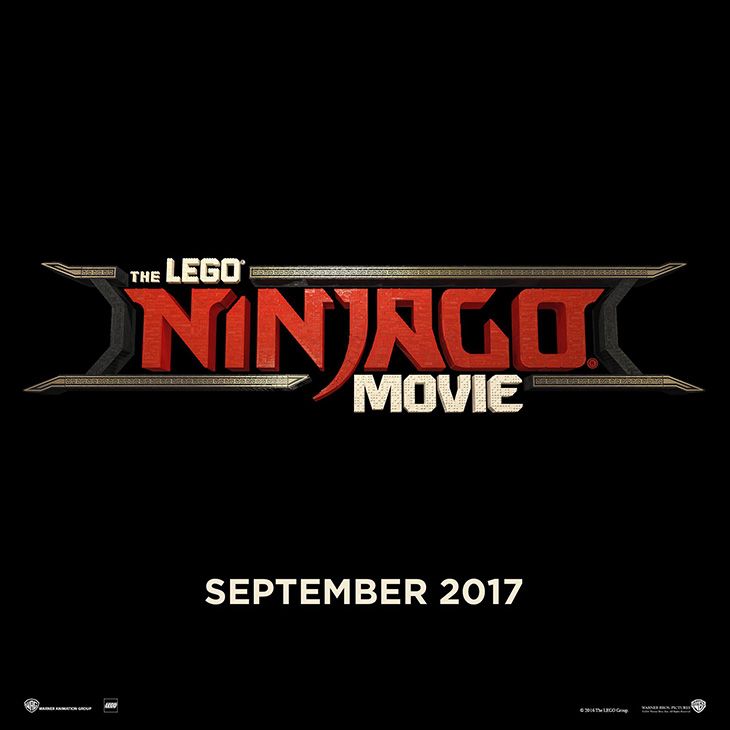 Póster de THE LEGO Ninjago movie