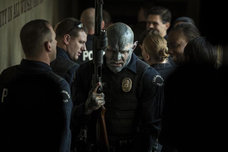 Un Orco se une por primera vez a la Policía de Los Ángeles en ' Bright', la nueva película de Netflix