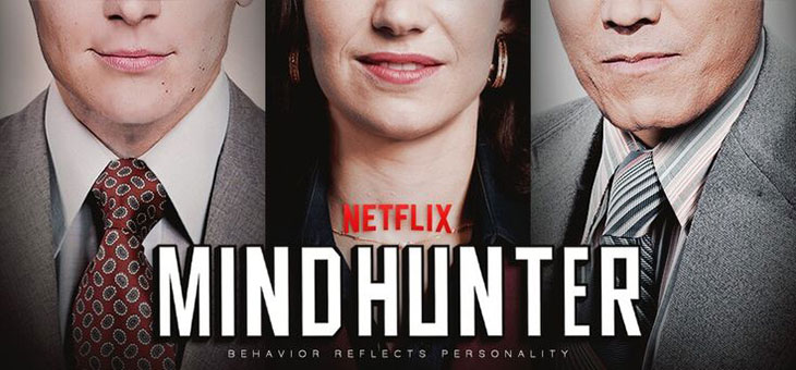 Póster promocional de Mindhunter