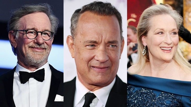 Spielberg, Hanks y Streep, trío de lujo para 'The Post'