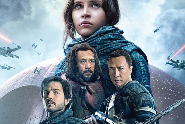 La misión llega a casa 'rogue one: una historia de star wars' ya disponible en blu-ray en plataformas digitales desde el 7 de abril