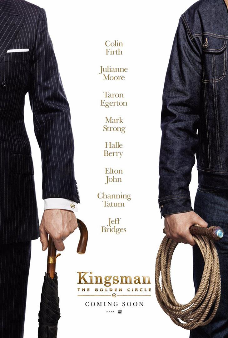 Póster de Kingsman: The Golden Circle