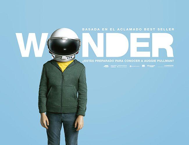 Cartel en español de 'Wonder' destacada