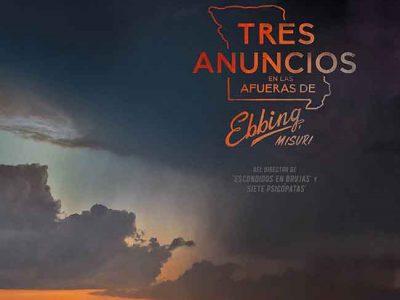 Póster de Tres anuncios en las afueras de Ebbing, Misuri destacada