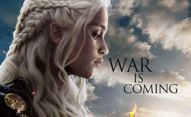 Cartel promocional 'War is coming'