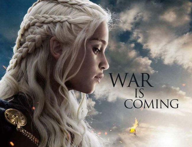 Cartel promocional 'War is coming'