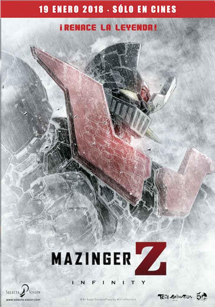 Póster de Mazinger Z: Infinity